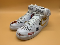 Supreme x Nike x NBA Air Force 1 Mid Sneakers - Brand New