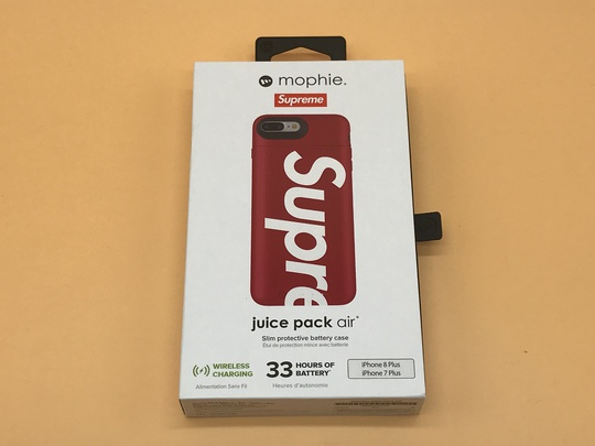 Supreme / Mophie Juice Pack Air iPhone 7/8 Plus - Red
