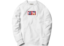 Kith Geo Color Crewneck - White - Medium
