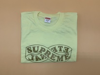 Supreme Eternal Tee Shirt - Pale Yellow - Brand New