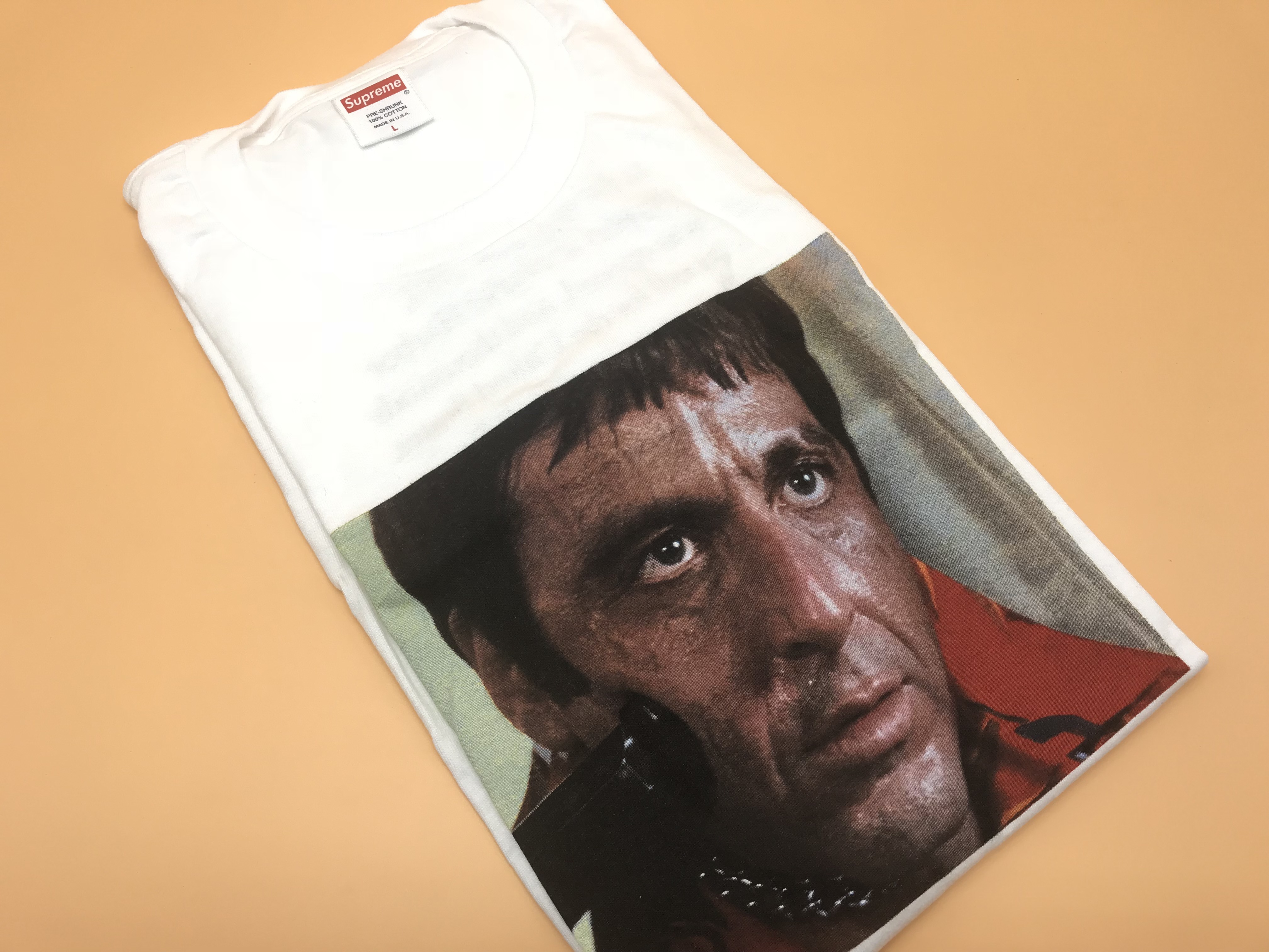 Supreme Scarface Shower Tee - FW17 - Brand New